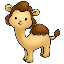 Camel clipart baby camel. Christmas reindeer cutest pictures