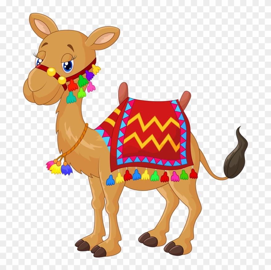 Camel clipart baby camel.  cute cartoon