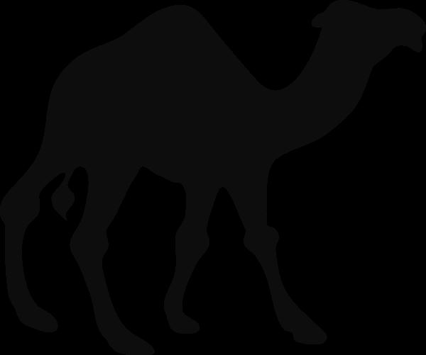 Clipartblack com animal free. Camel clipart black and white