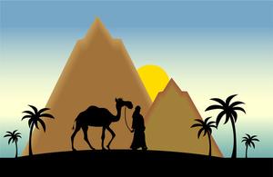 Free camel clip art. Desert clipart desert scene