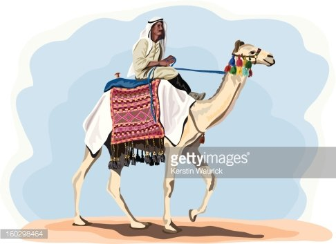 Rider in traditional costume. Camel clipart camel egyptian