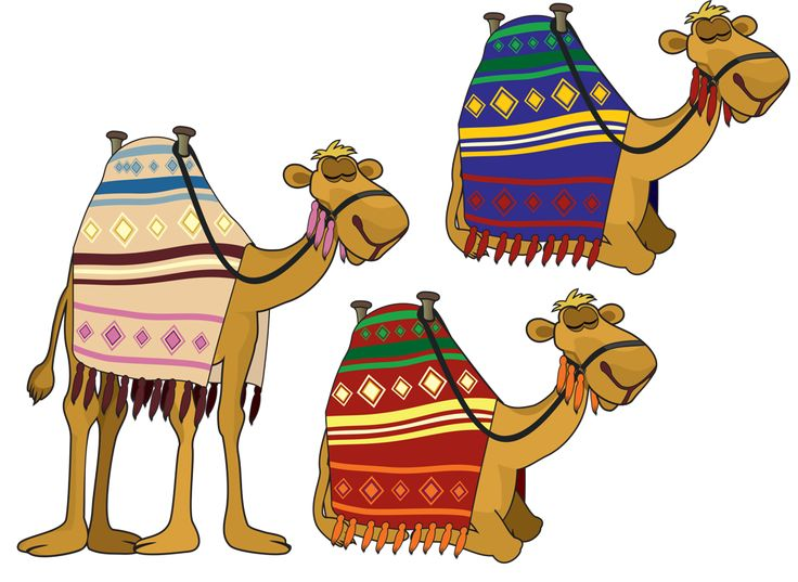 Camel clipart camel egyptian. Camels pencil and in