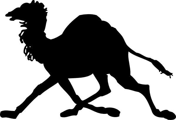 camel clipart dancing