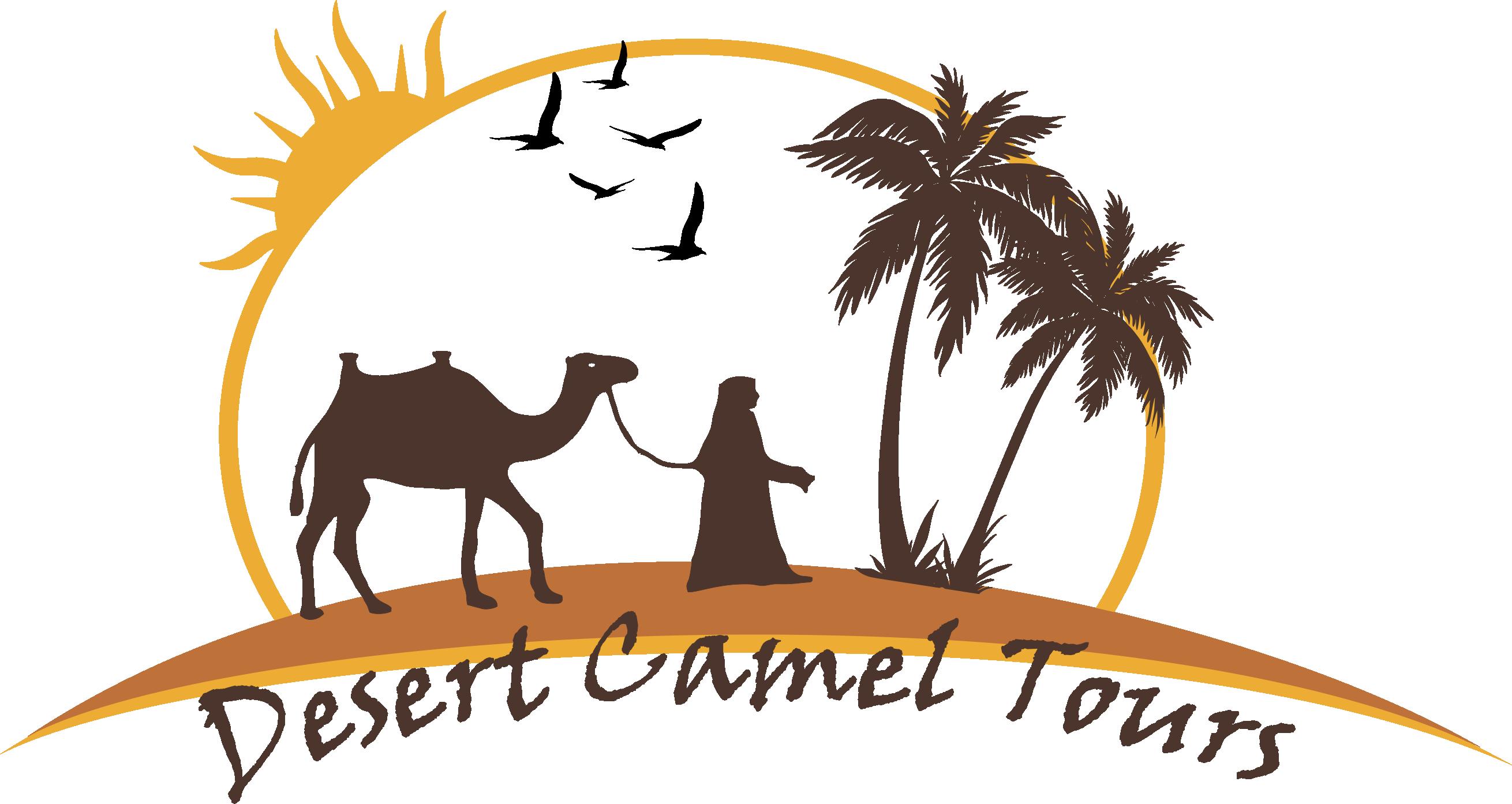 Camel tours. Desert clipart desert landform