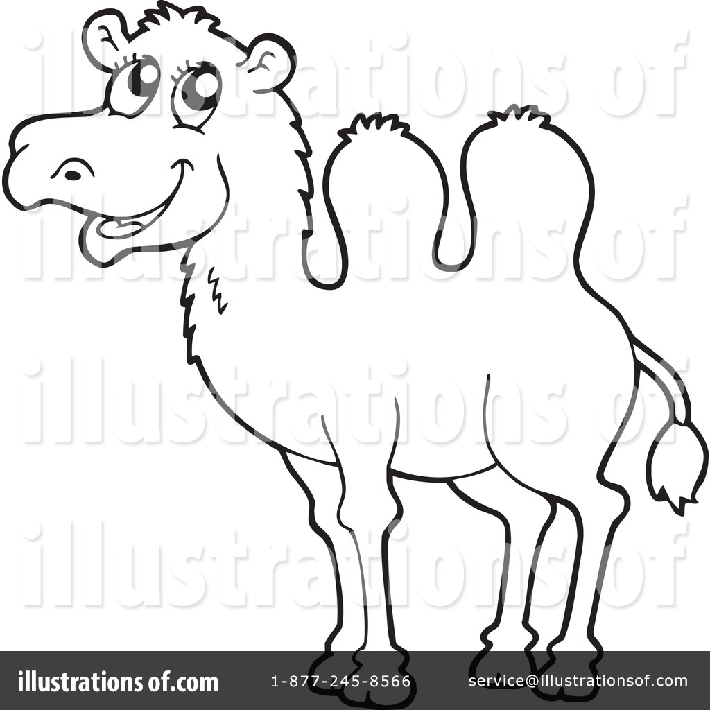Camel clipart drawing. Outline at getdrawings com