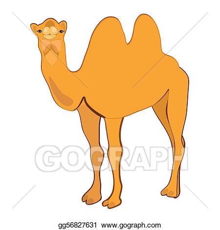 Camel clipart illustration. Vector stock gg gograph