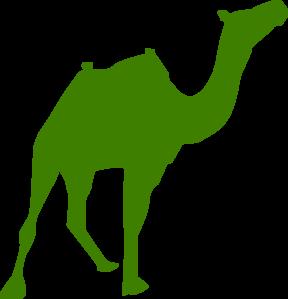 Walking silhouette clip art. Camel clipart palm tree