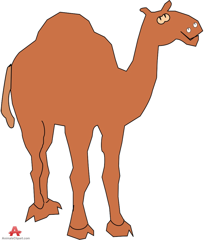 Camel clipart pink. Simple free design download