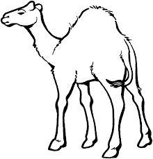 Clip art . Camel clipart simple