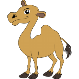 Cute icon png image. Camel clipart small camel