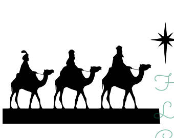 Material for Three Wise Men coloring pages printable games   270x340