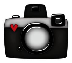 Pictures and printables cards. Camera clip art