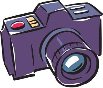 Photo clipart. Camera color