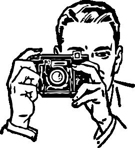 Camera clip art black and white. Digital cameras