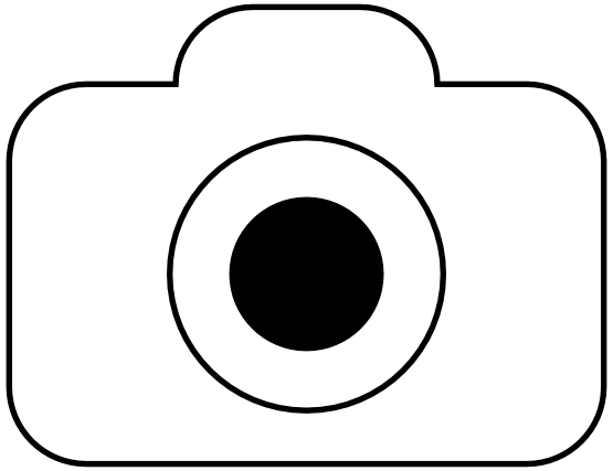 Arts crafts png transparent. Camera clip art black and white