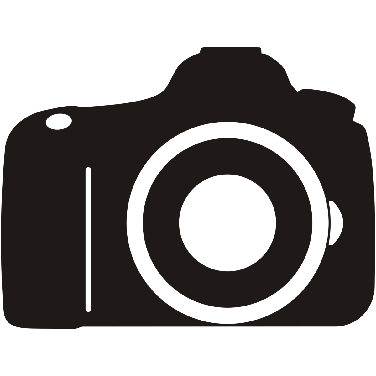 White clipart camera. Black and png station