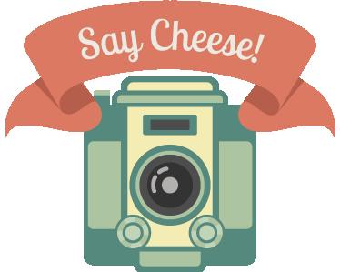 Camera clip art cheese. Say wall sticker tenstickers