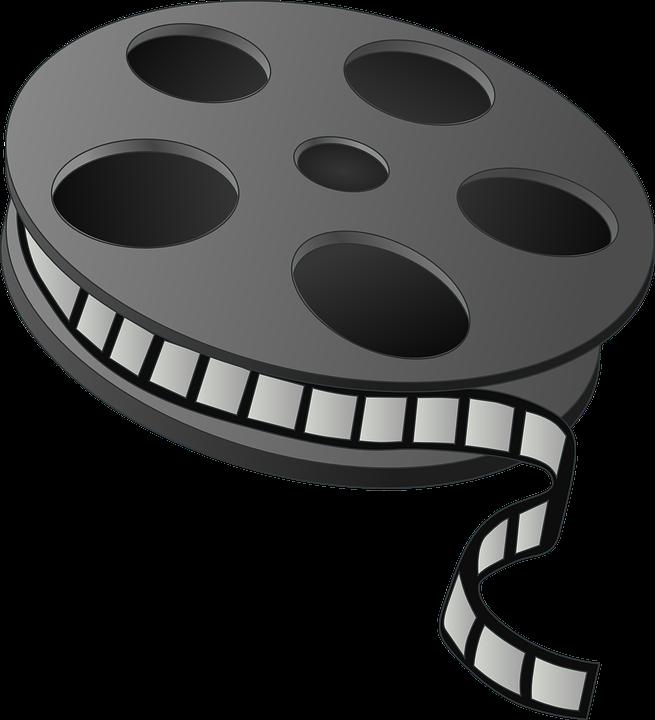 Movie clipart animated. Nikon film roll free