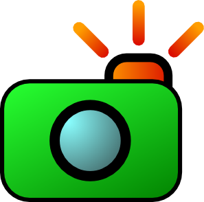 Camera clipart animated. Cartoon collection clip art