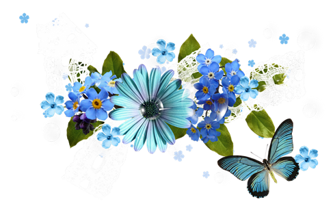 Camera clip art flower. Image of blue png