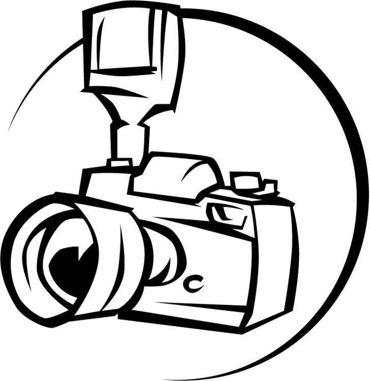 Camera clip art line drawing. Simple at getdrawings com