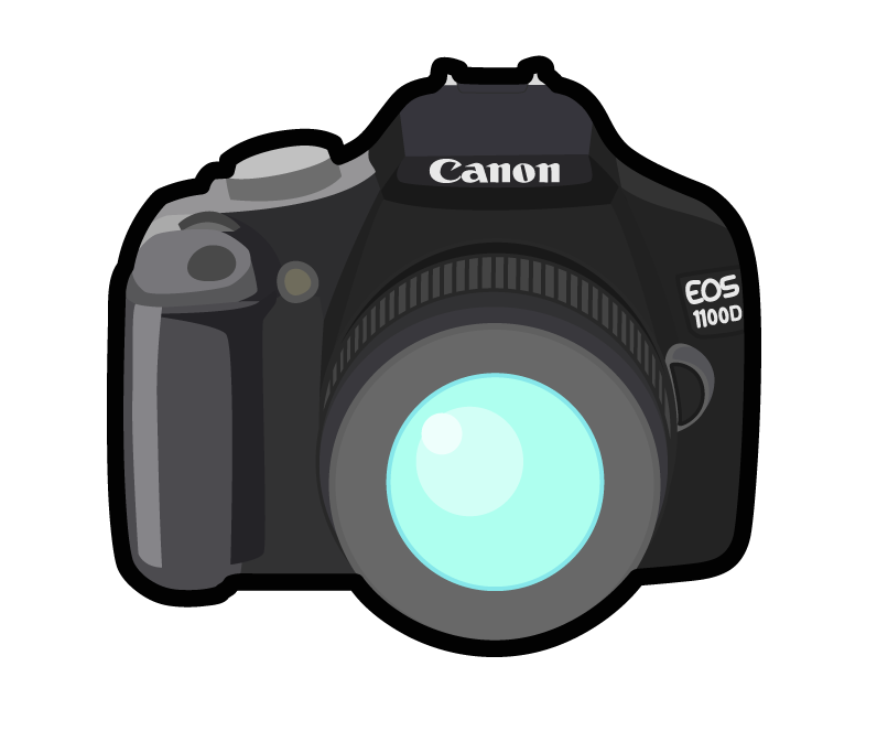 Photography clipart canon pencil. Camera clip art logo