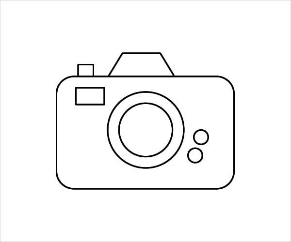 Camera clipart outline.  clip arts free
