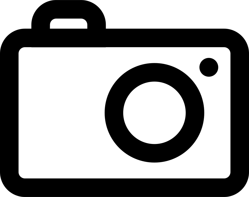 Photography svg png icon. Camera clip art outline