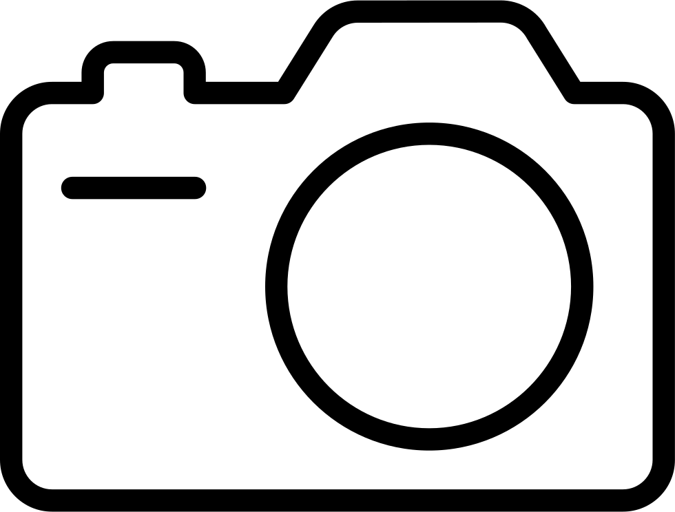 Camera outline drawing at. Photography clipart cmera