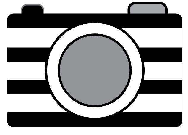 Striped clipart oh snap. Camera clip art photography