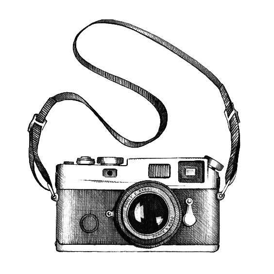Camera clip art photography. Drawing transprent png