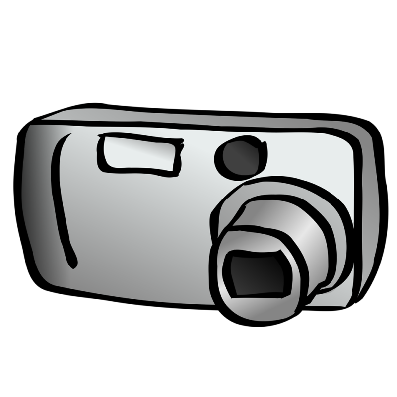 Camera clip art transparent background. Free clipart black and