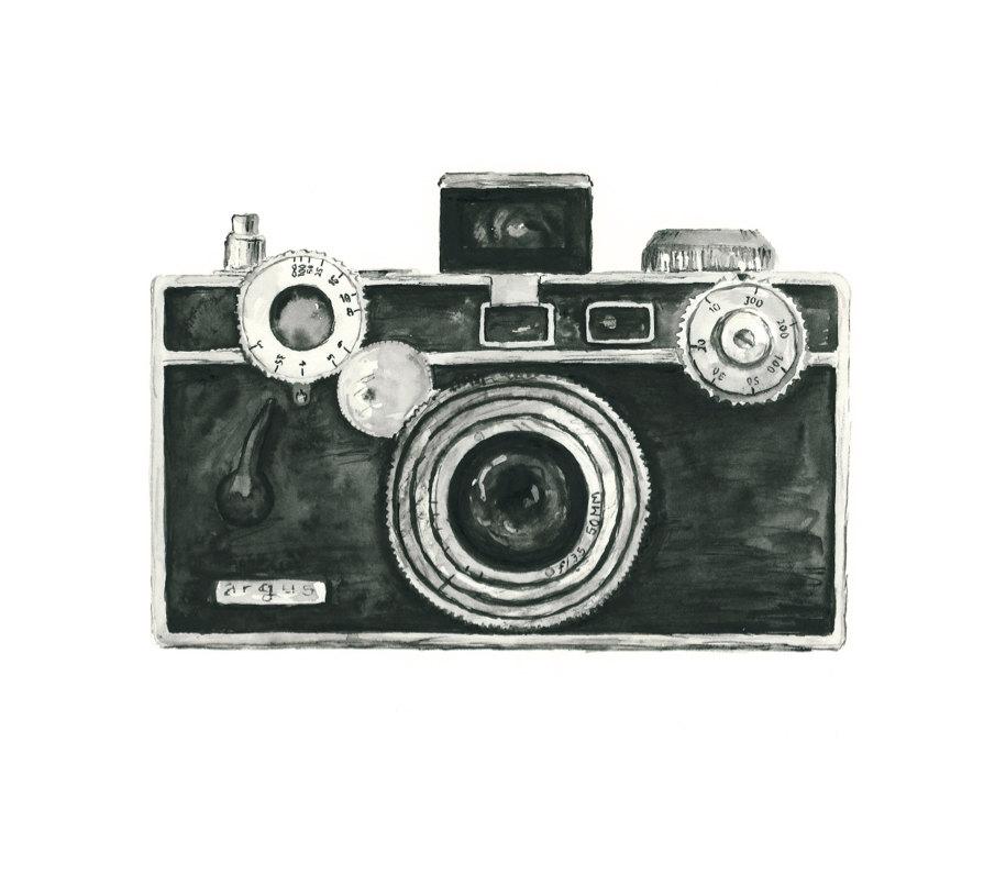Camera clipart retro camera.  vintage clipartlook