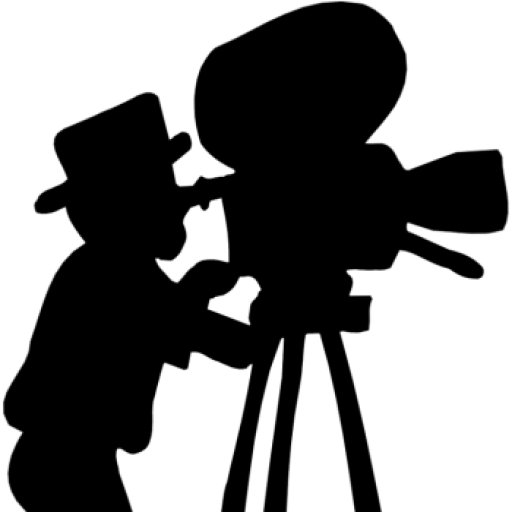 Camera clip art vintage camera. Cropped old movie clipart