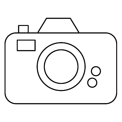 Camera clipart black and white. Png station