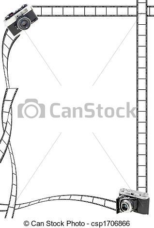 Camera Border Clipart