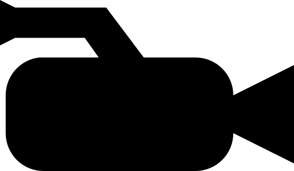 Icon video panda free. Camera clipart camcorder