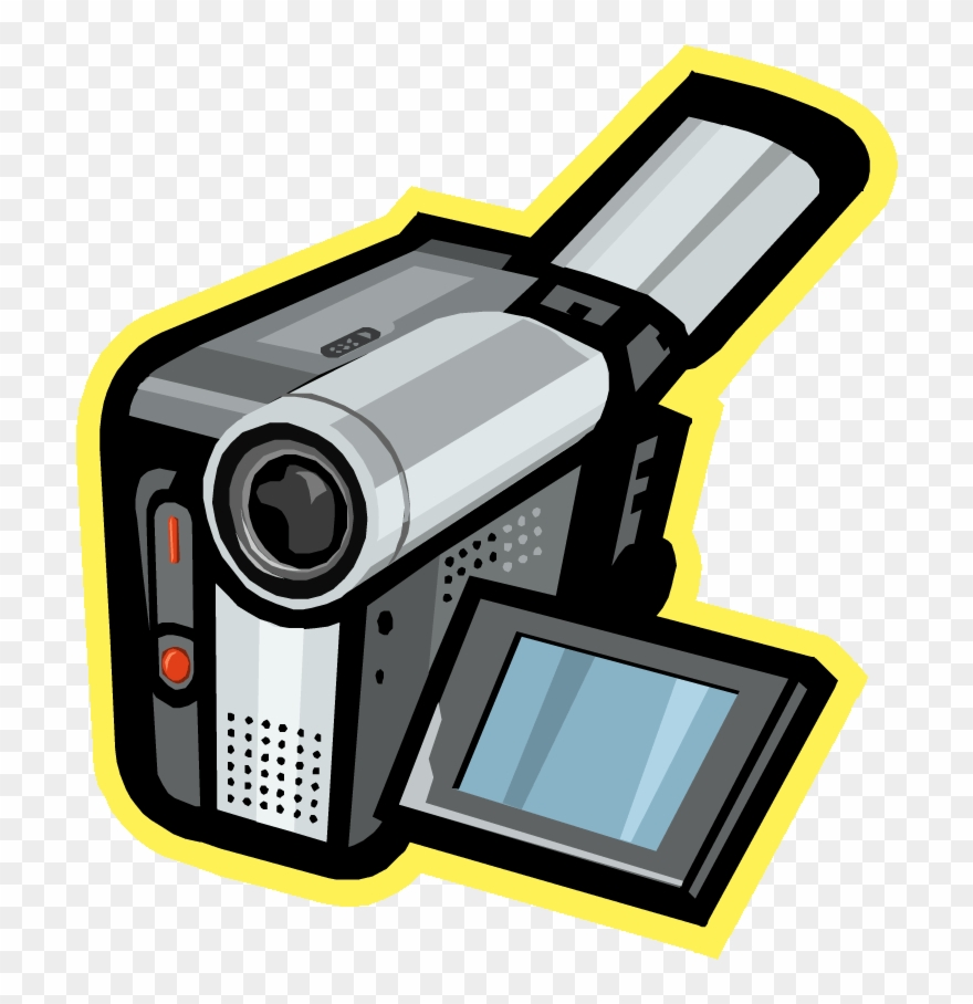 Camera clipart camcorder. Animated png download