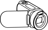 Search results for clip. Camera clipart camcorder