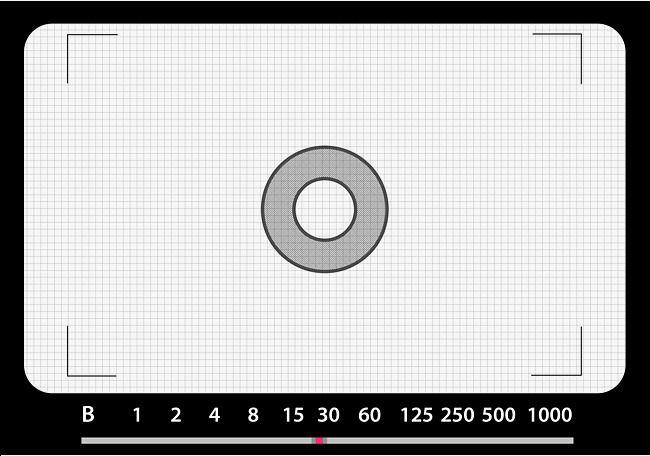 Camera clipart camera frame. Viewfinder for digital vector