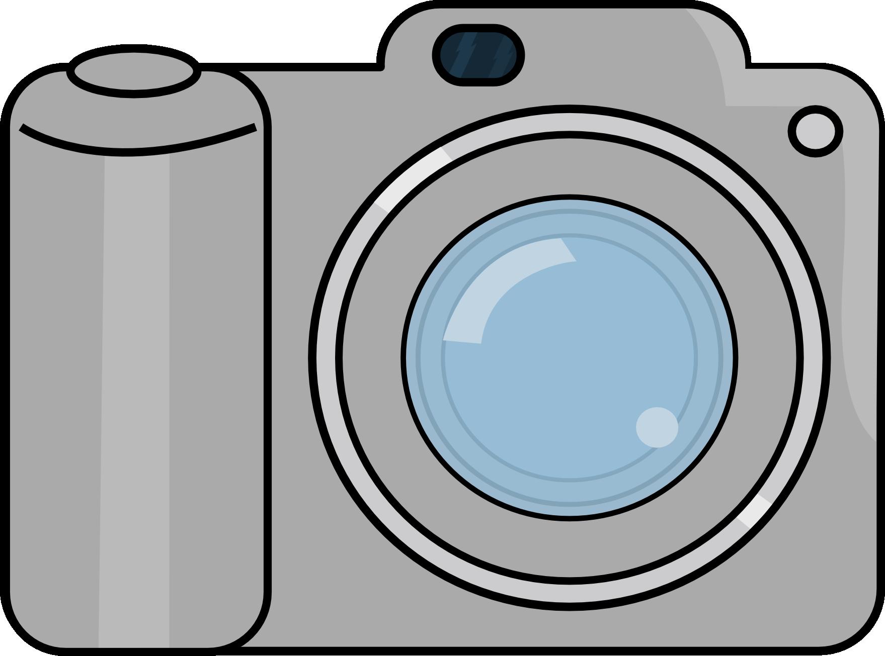 Camera clipart cartoon. Animated
