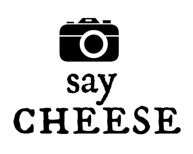 Why you say before. Camera clipart cheese