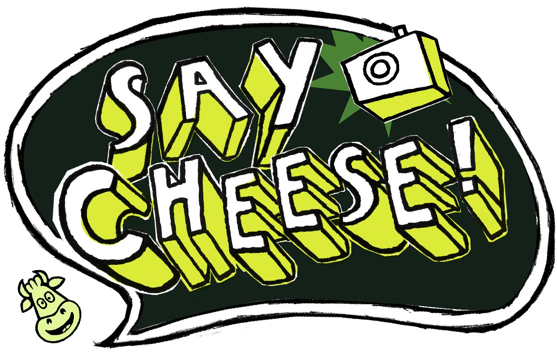 Camera clipart cheese. Say panda free images