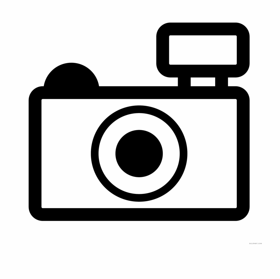 Outline of free png. Camera clipart clip art