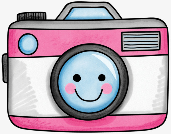 Cartoon png image and. Camera clipart cute
