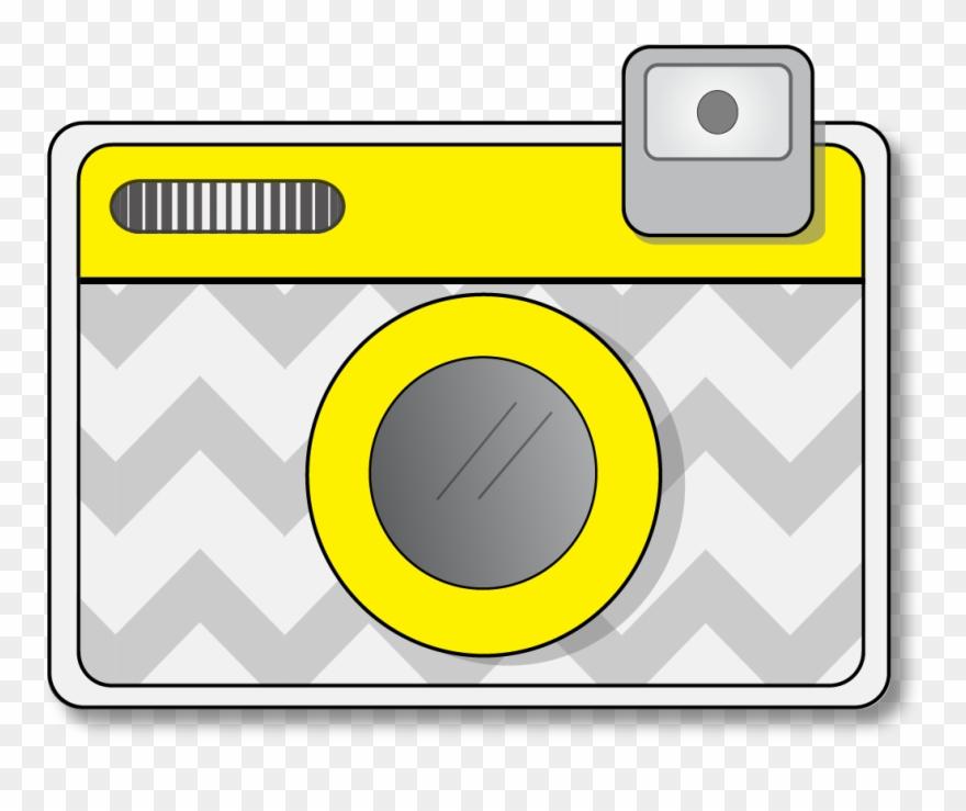 Camera clipart cute. Free clip art of