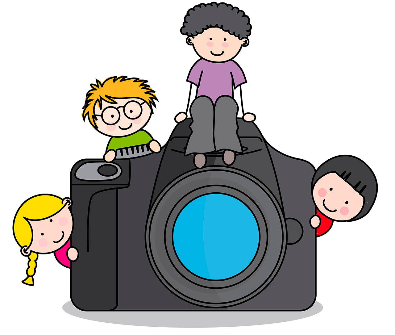 Picture make up . Camera clipart day