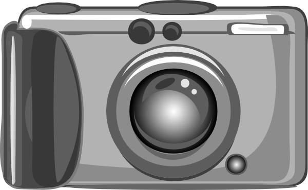 Clip art free vector. Camera clipart digital camera
