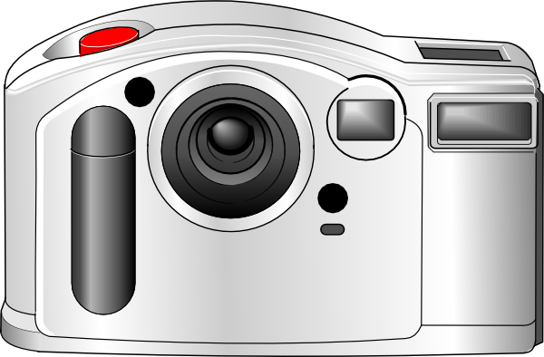 Clip art at clker. Camera clipart digital camera