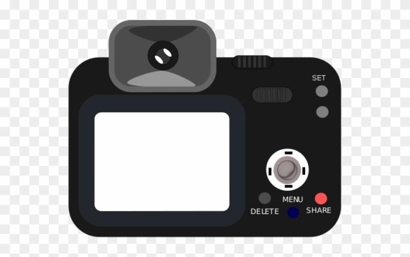 Camera clipart digital camera. Png back transparent